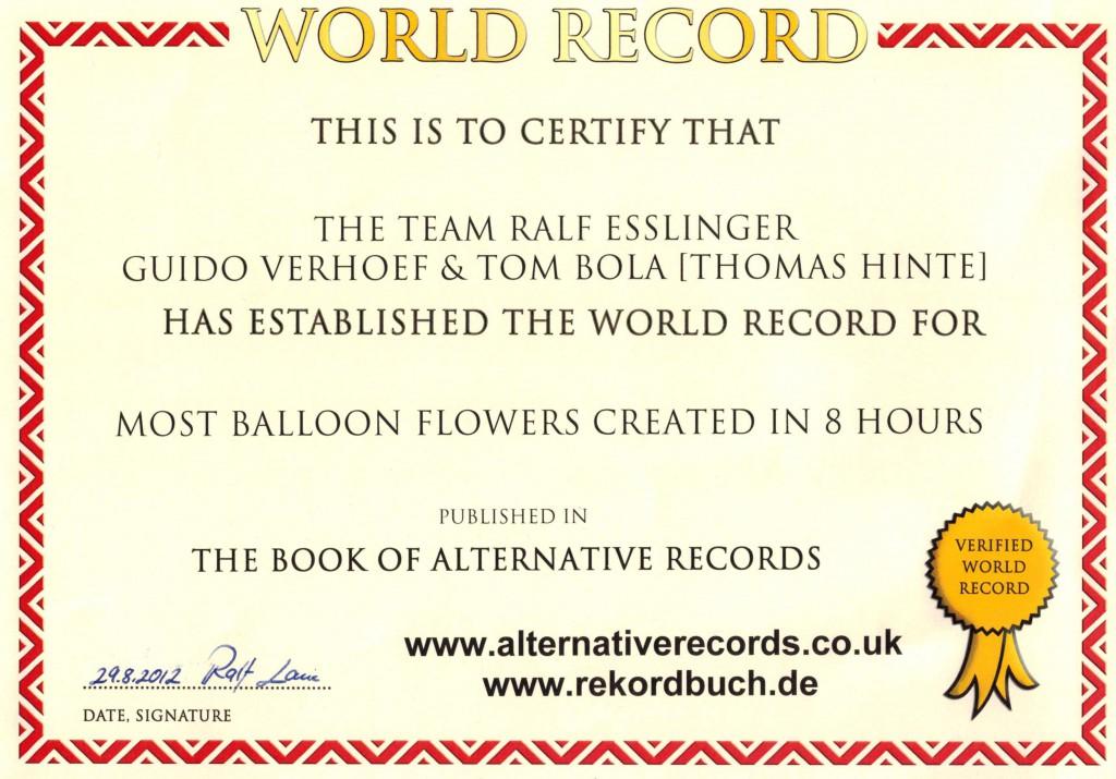 Weltrekord 2012